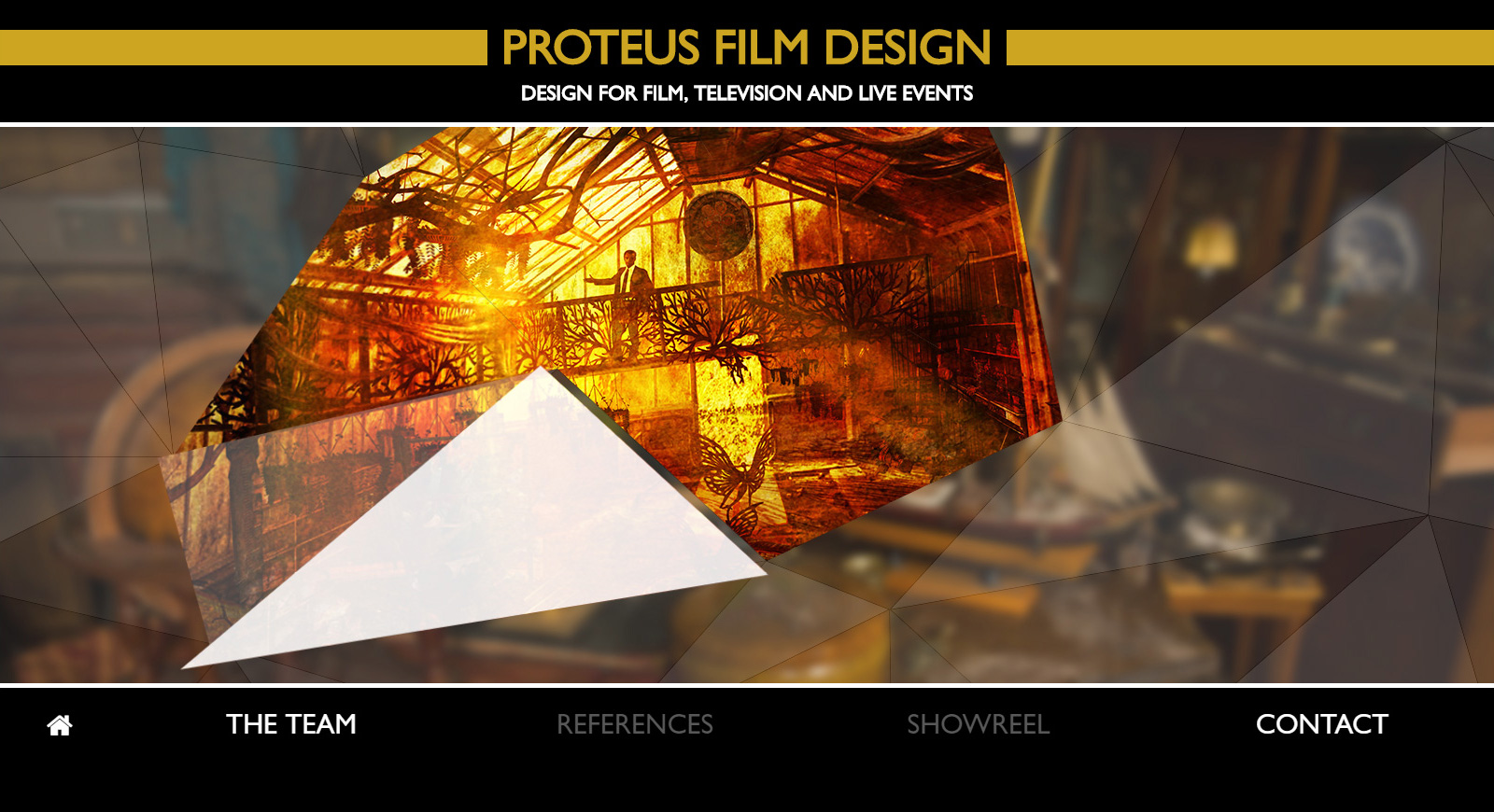 Proteus Film Design team weboldala 1
