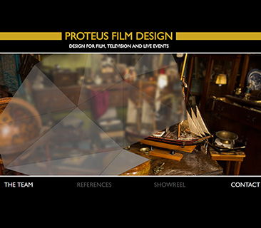 Proteus Film Design team weboldala